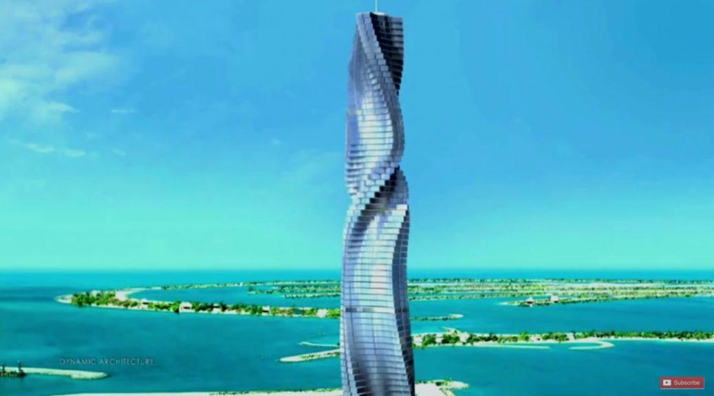 Dubai tendrá en el 2.020 el primer rascacielos giratorio del mundo
