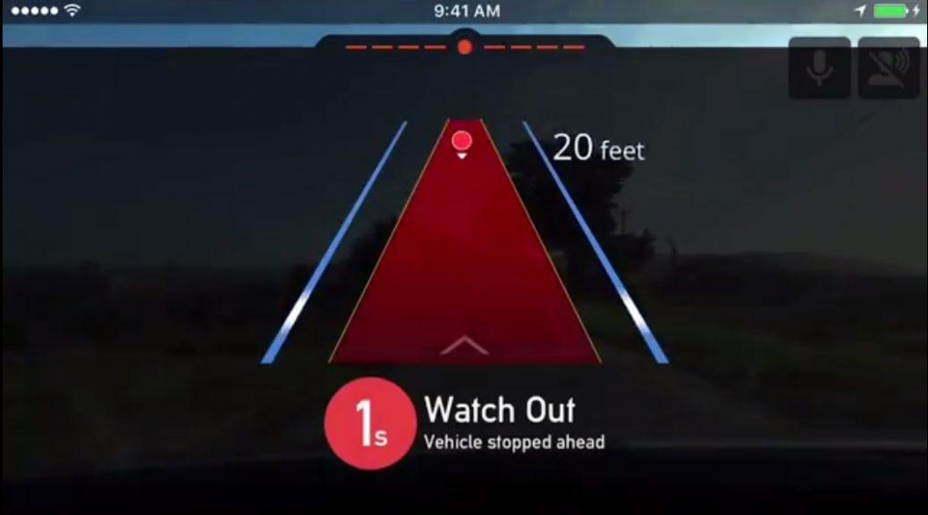 Nueva aplicación convierte su smartphone en una dashcam de prevención y detección de accidentes