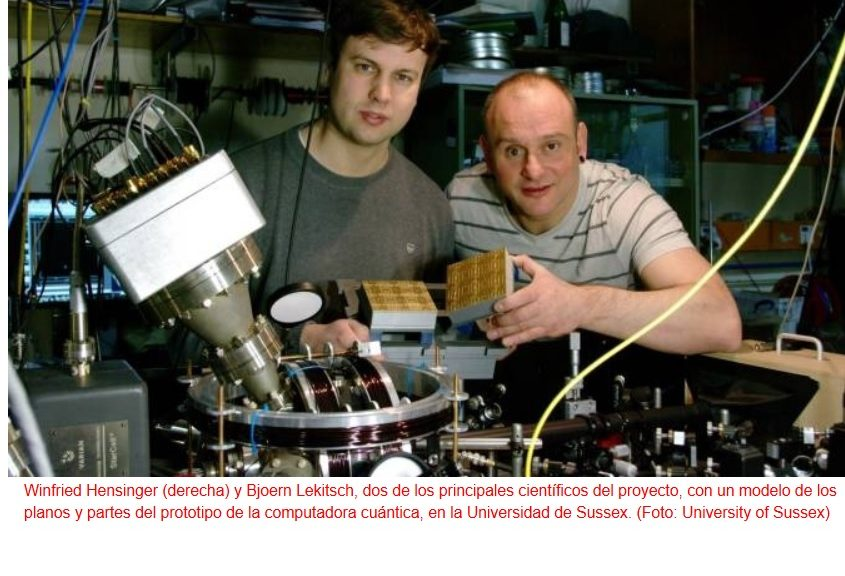 Ya están a punto los planos de Google para construir la primera computadora cuántica de gran escala