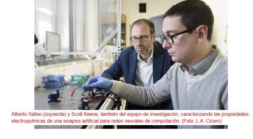 Logran crear una sinapsis artificial para redes neurales
