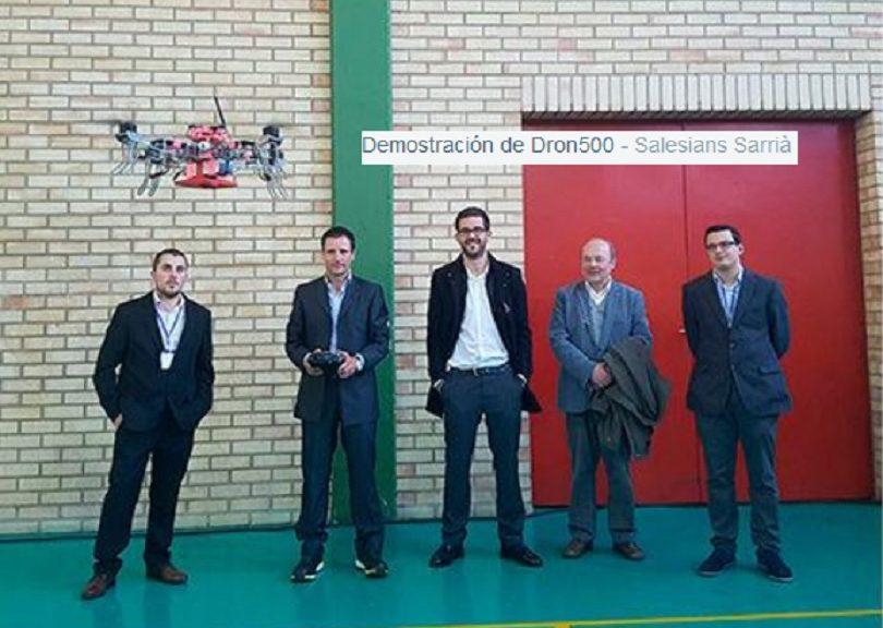 Fabrican dron capaz de localizar minas antipersonas