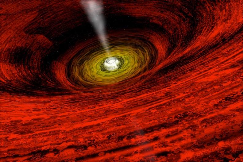 Nueva teoría conecta agujeros negros, materia oscura y ondas gravitacionales