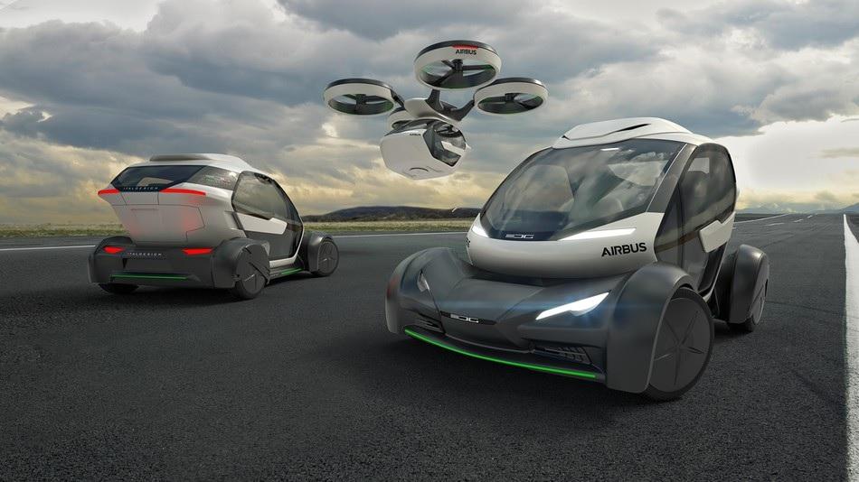 En el futuro disfrutará de su propio vehículo híbrido de vuelo autónomo