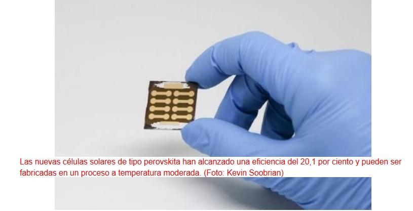Células solares imprimibles y baratas