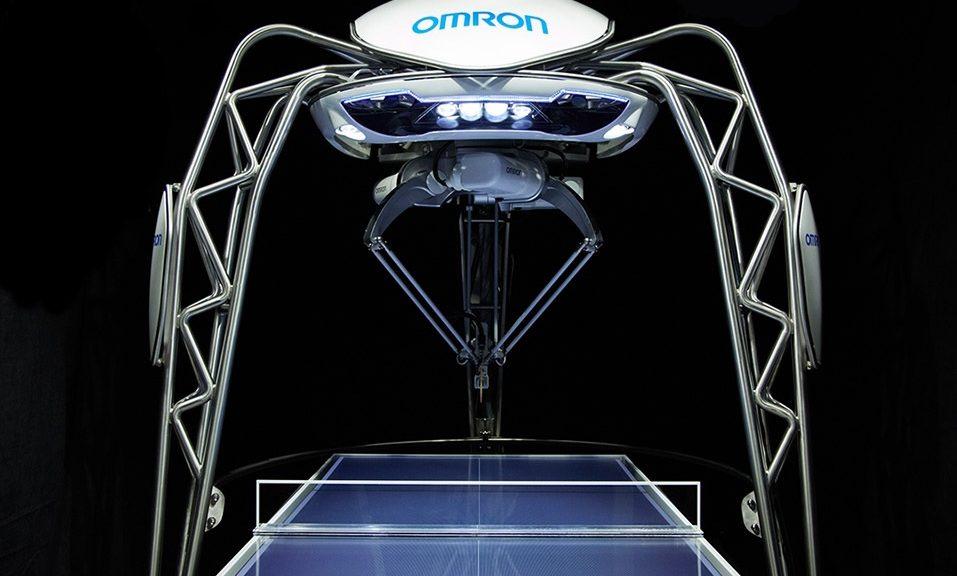 Robot jugador de tenis de mesa establece nuevo récord mundial
