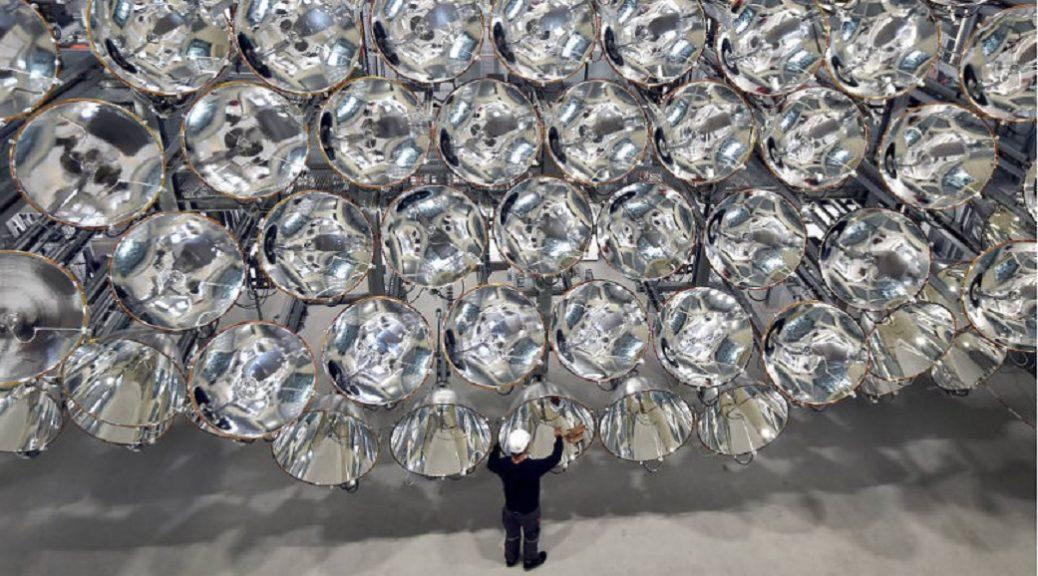 Sistema gigante de luz con la energía de 10.000 Soles