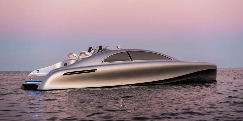 Mercedes-Benz lanzará su propio yate de lujo
