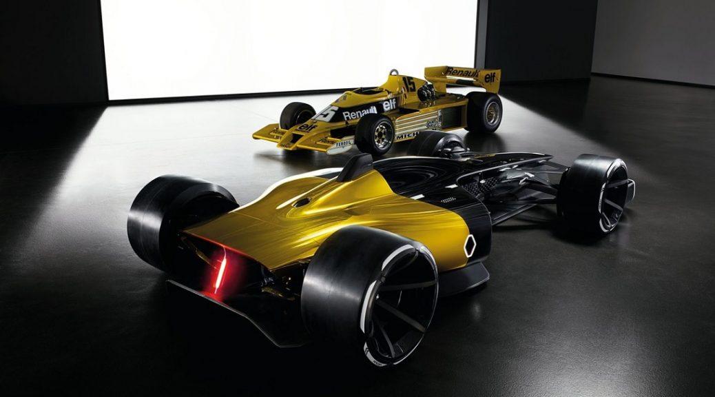 La visión de Renault de su auto de Fórmula 1 en diez años