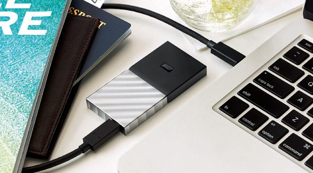 Western Digital lanza su primer SSD portátil