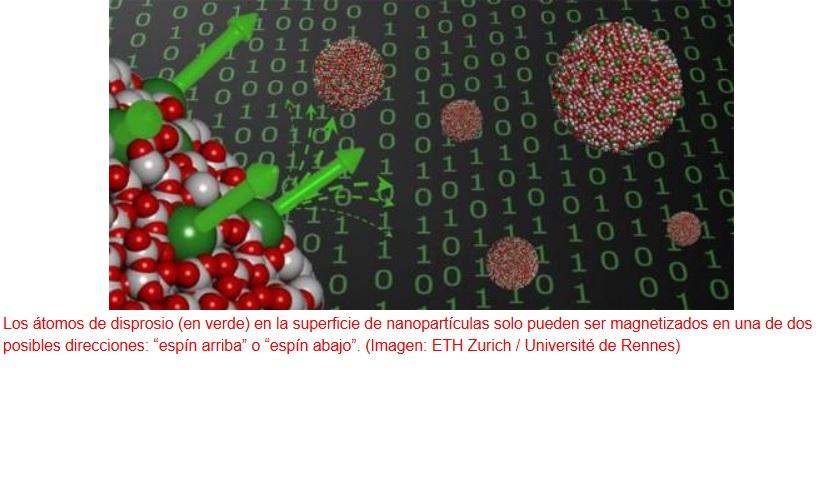Hacia el almacenamiento de datos más denso posible