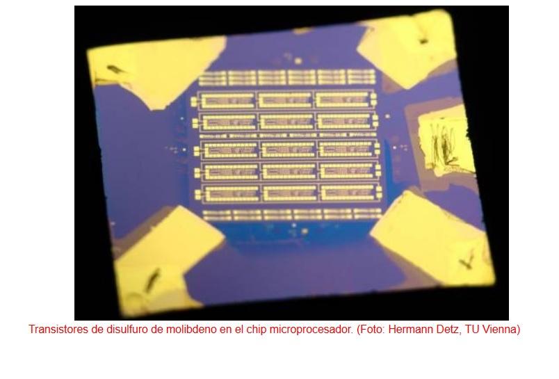 Trabajan en microprocesadores flexibles