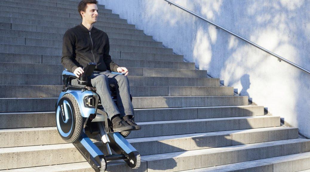 Inventan silla de ruedas para subir escaleras sin asistencia