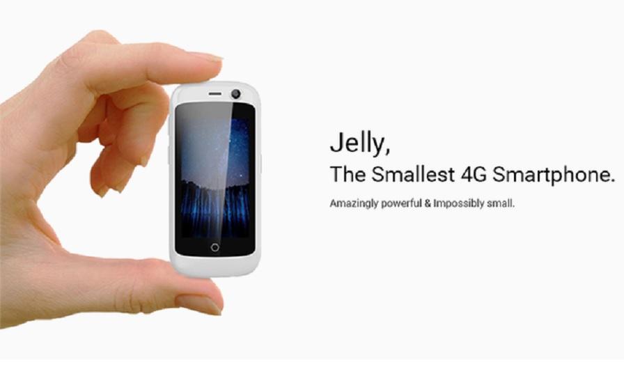 Jelly, el smartphone más pequeño del mundo