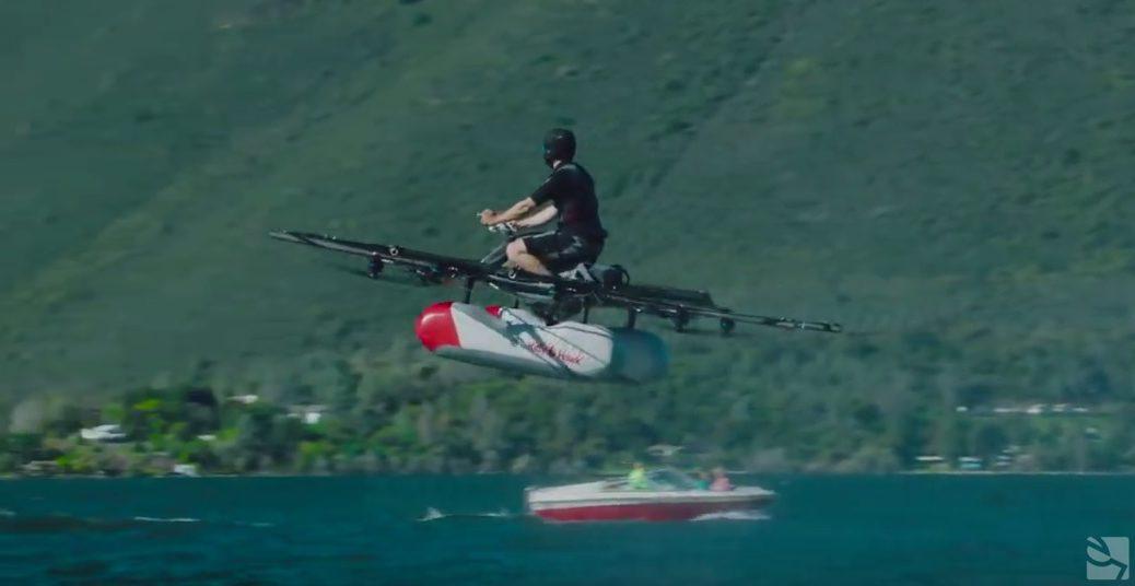 Kitty Hawk Flyer, un vehículo volador eléctrico, que saldrá a venta este año
