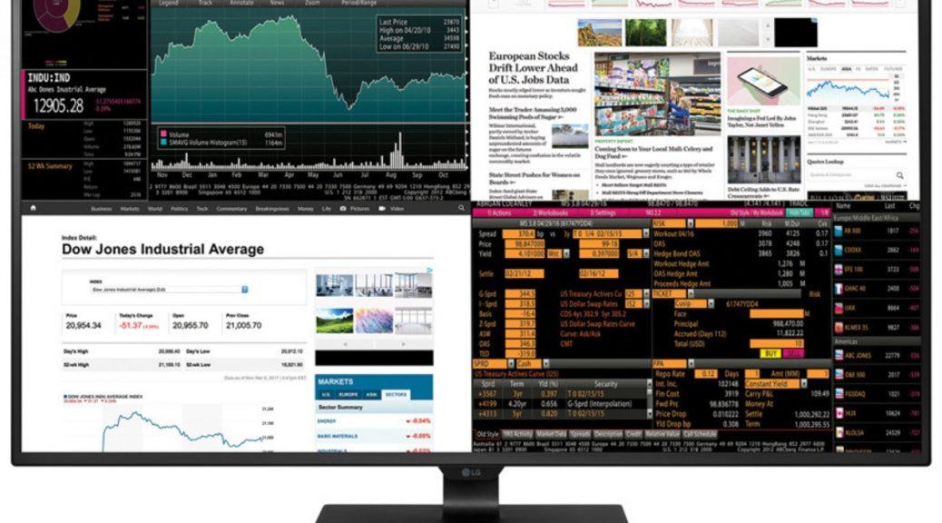Enorme monitor 4K permitirá ver hasta cuatro dispositivos al mismo tiempo