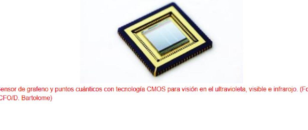 Han integrado un circuito CMOS con grafeno para crear una cámara que capta lo invisible