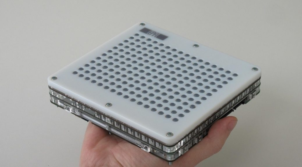 Una tableta táctil para guiar a discapacitados visuales