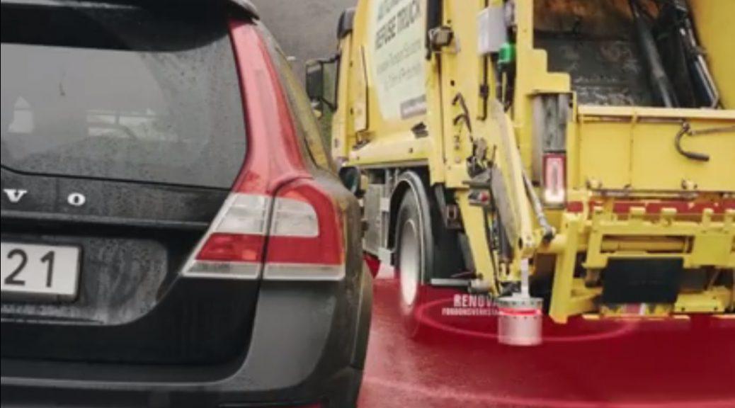 Volvo prueba camión autónomo para recoger la basura
