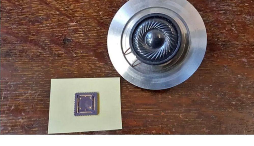 Fabrican un altavoz de grafeno sin partes móviles que utiliza calor para producir sonido