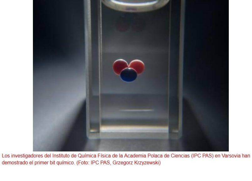 Han creado un dispositivo de memoria química de 1 bit
