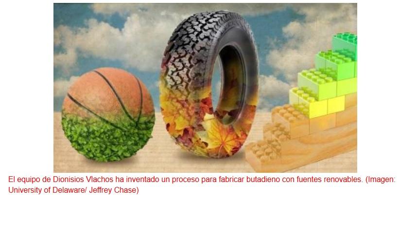 Inventan un proceso para fabricar goma y plástico renovables