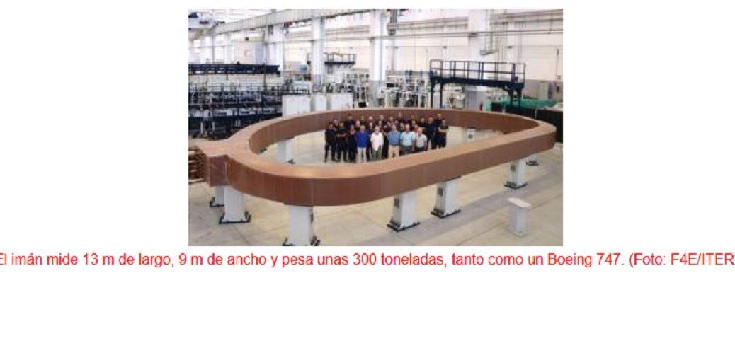 El imán más sofisticado del mundo para probar la viabilidad de la energía de fusión nuclear