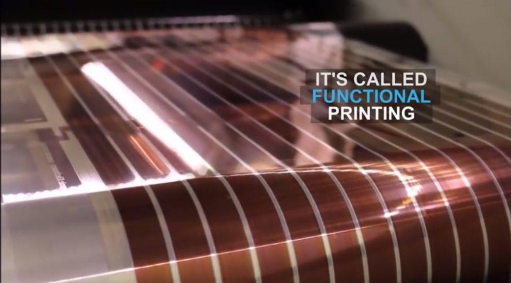 Investigadores prueban paneles solares impresos