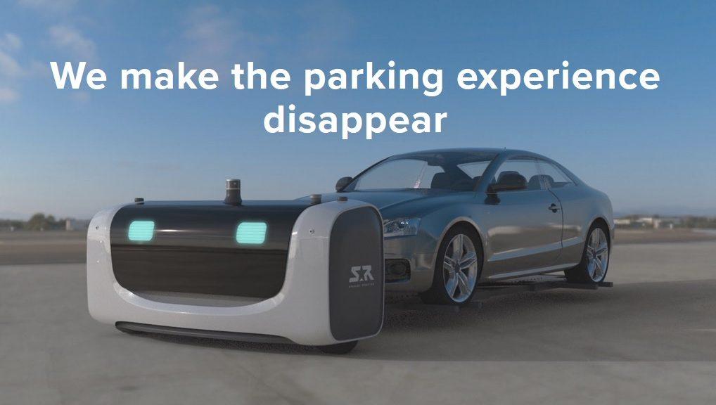 Stan es el primer robot para estacionar autos al aire libre