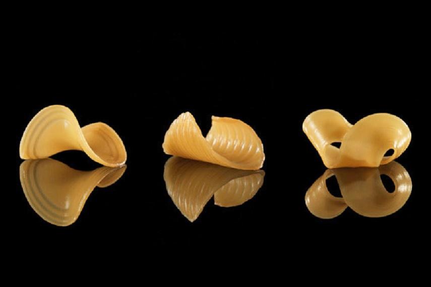 En el futuro no solo el sabor de la pasta será importante, también su forma impresa en 3D