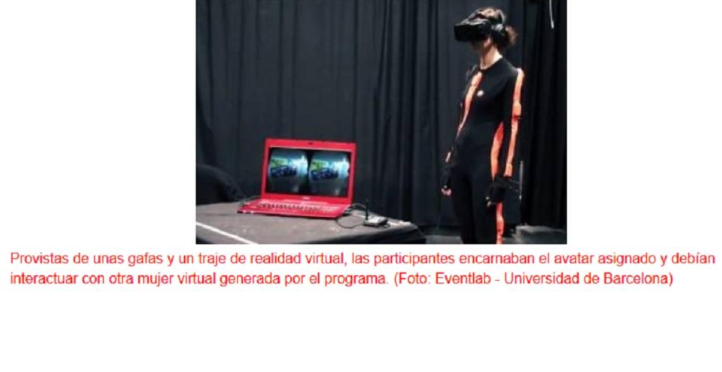 La realidad virtual inmersiva confirma sesgos raciales