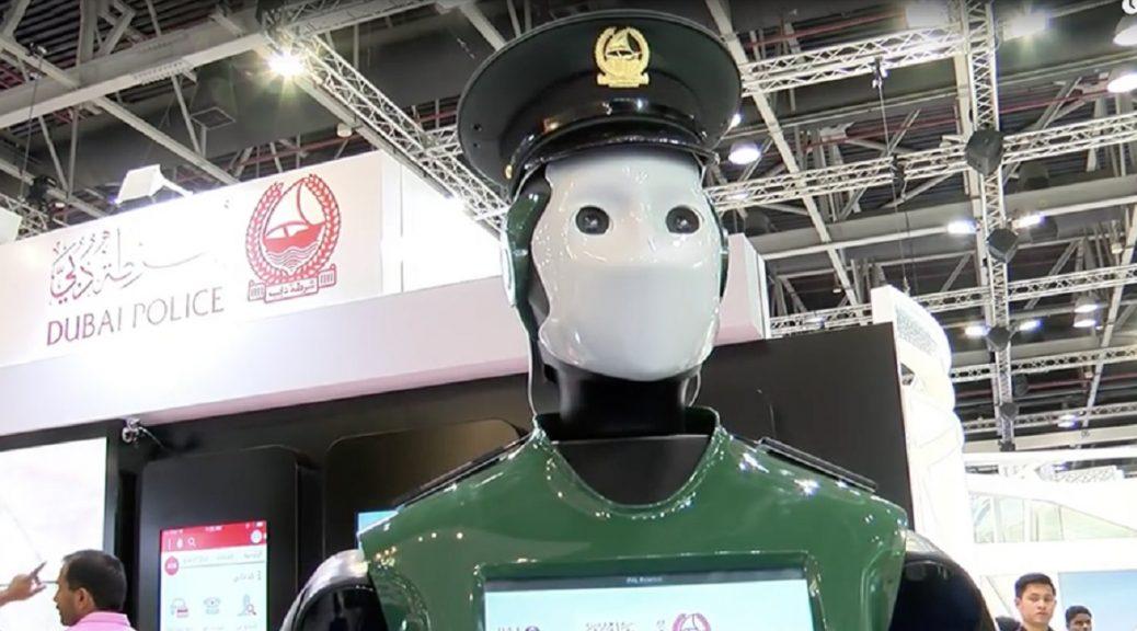 El primer robot policía esta semana inicia operaciones en Dubai