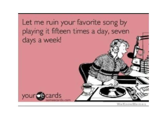 Por qué dejan de gustarle las canciones si las escucha demasiado
