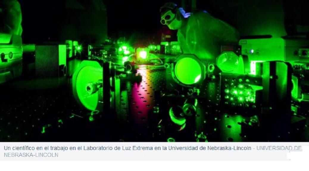 El láser más brillante del mundo muestra un nuevo comportamiento de la luz que puede producir imágenes de altísima resolución.