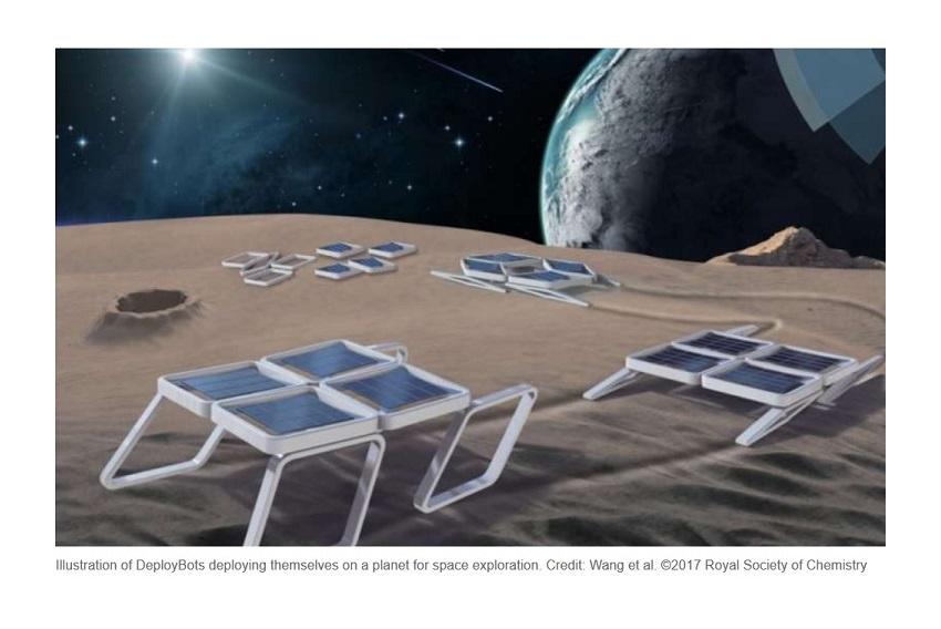 """Han desarrollado el primer robot """"blando"""" plegable, perfecto para misiones espaciales"""