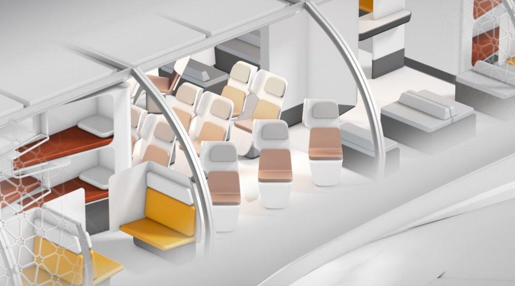 Airbus busca cambiar radicalmente la experiencia de volar con un avión modular