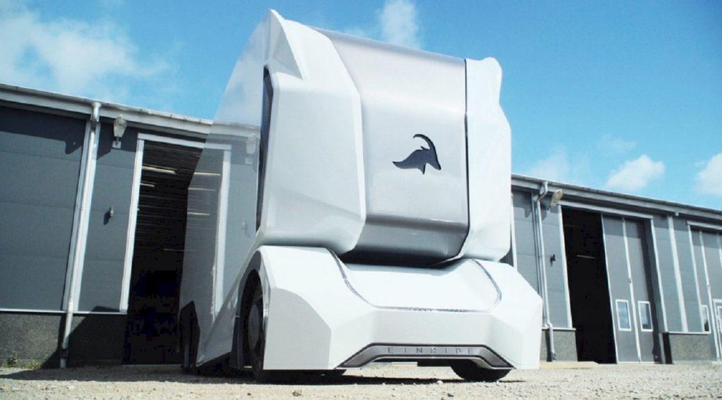 Nuevo prototipo de camión autónomo elimina completamente al conductor