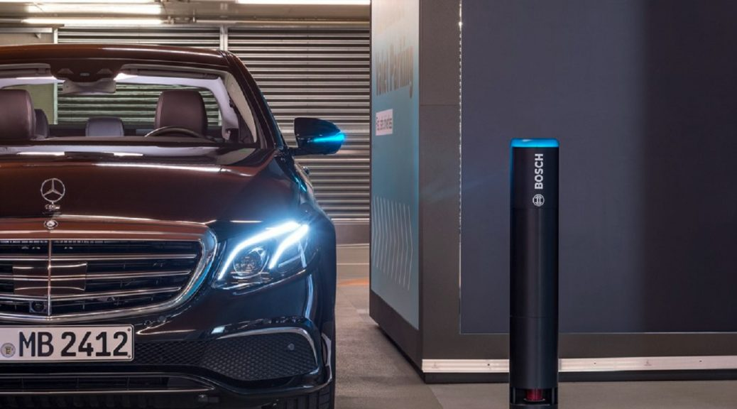 Valet-parking automatizado de Mercedes-Benz y Bosch