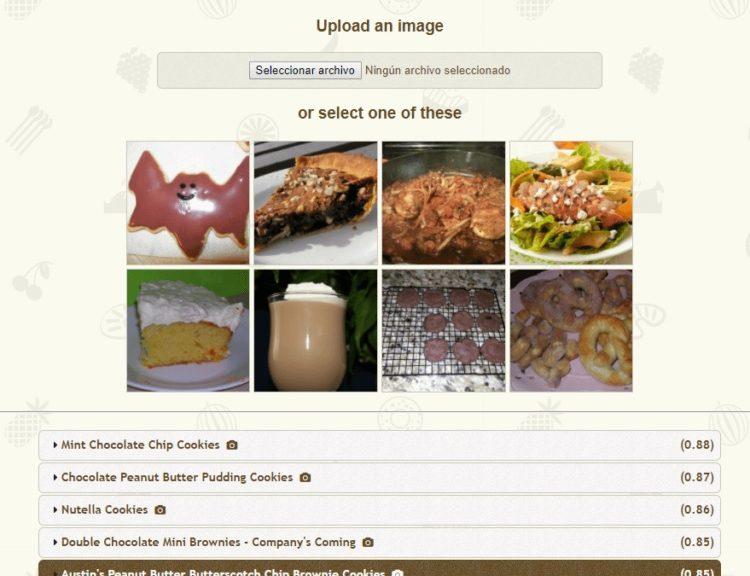 Desarrollan un sistema para encontrar la receta de un plato a partir de una fotografía
