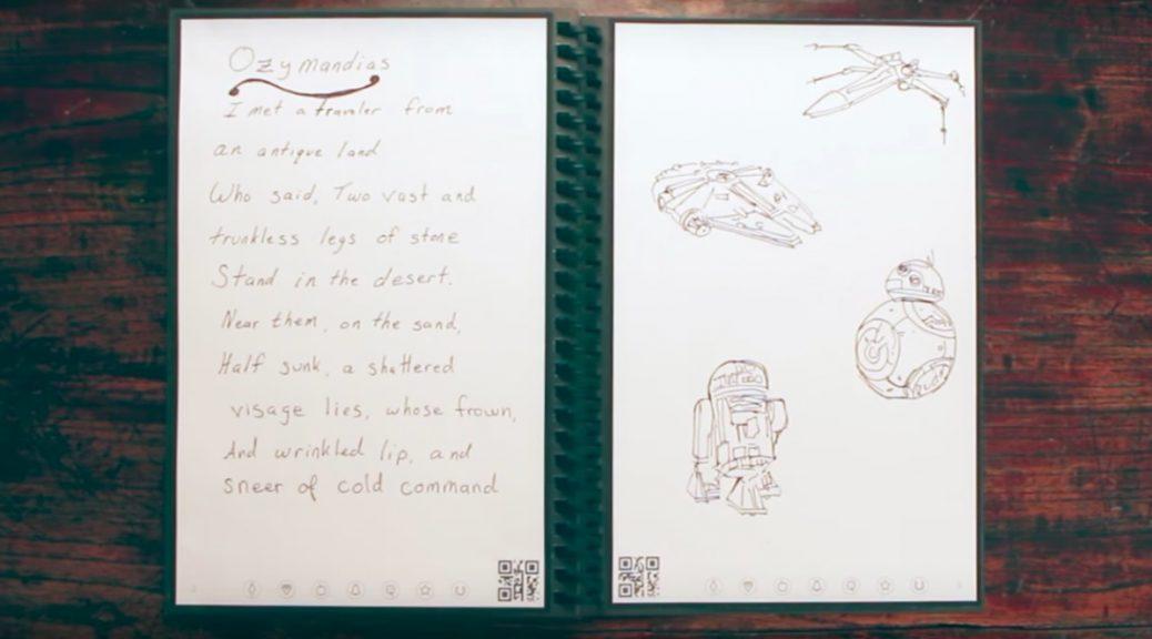 Cambie su manera de trabajar con este cuaderno inteligente, reutilizable y elegante