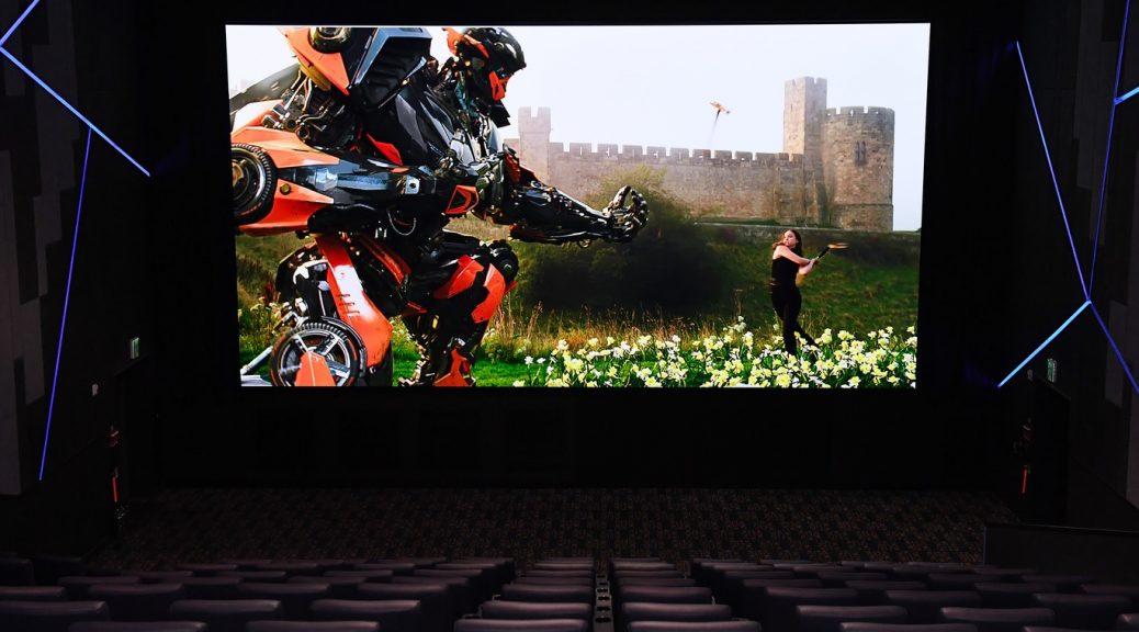 Ya está aquí el cine del futuro, sin proyectores y con pantallas LED modulares