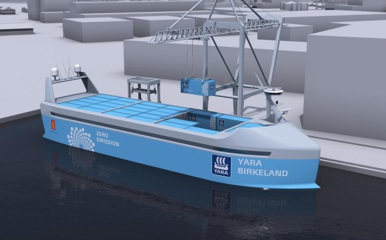 El primer barco autónomo y eléctrico se lanzará al mar en el 2.018