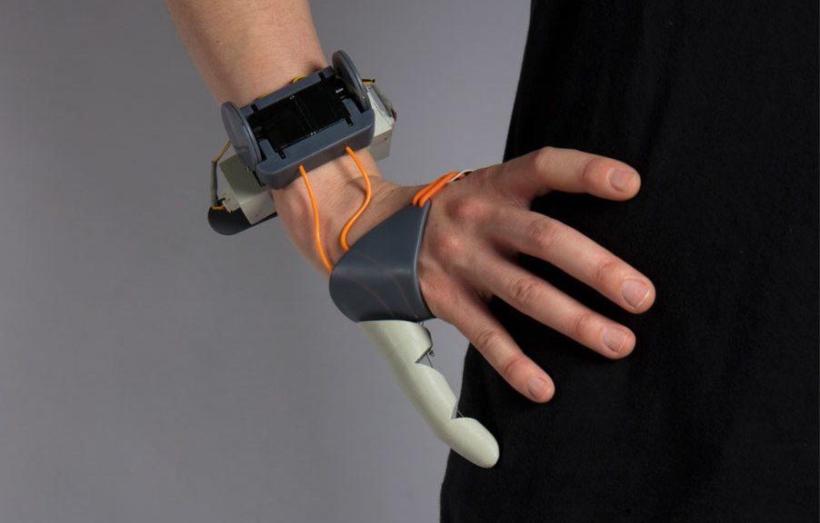 Fabrican pulgar adicional impreso en 3D