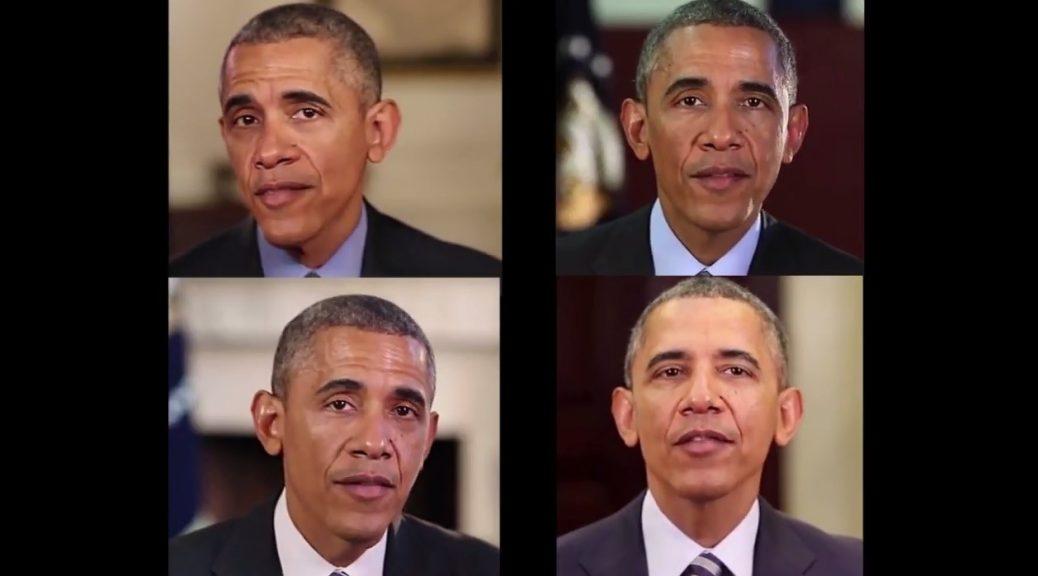 Barack Obama nos muestra tecnología lip-sync alucinante