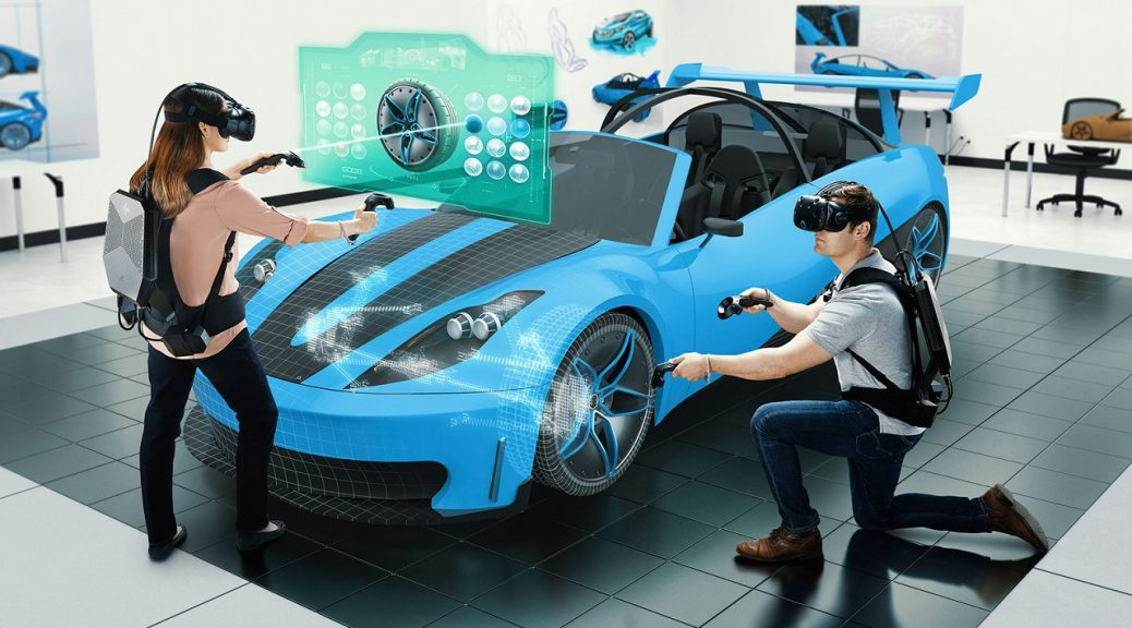 HP ha lanzado su mochila para trabajar con realidad virtual