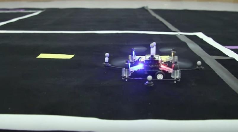 Drones del MIT con capacidad de volar y conducir en tierra