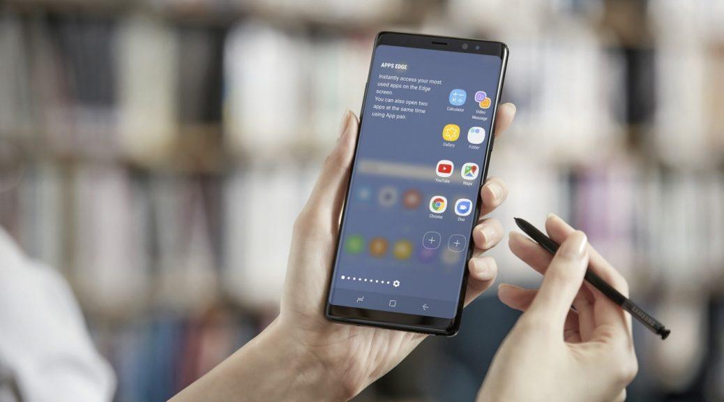 Samsung presenta su Galaxy Note 8 con pantalla de 6.3 pulgadas