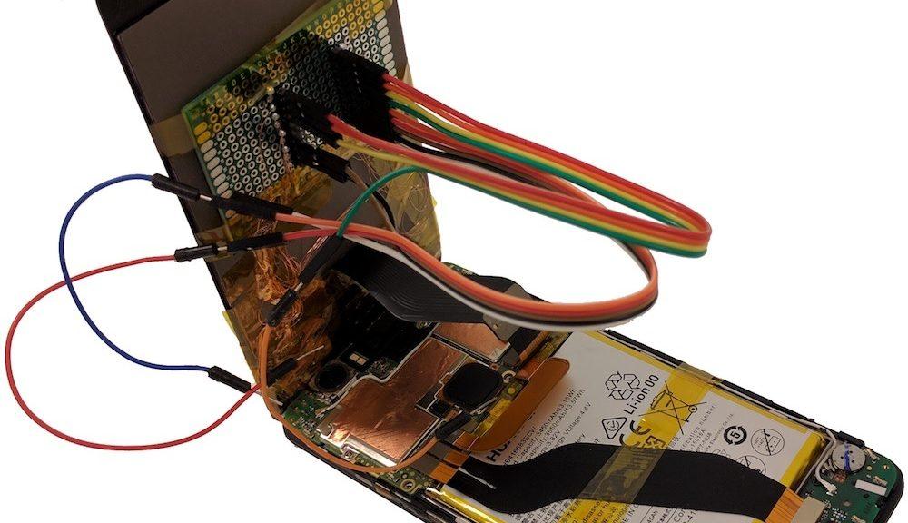 Ahora pueden hackear su teléfono con pantallas táctiles de reemplazo