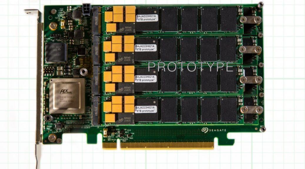 Seagate logra SSD de 64 TB de capacidad, 13 GB/s de velocidad de transferencia