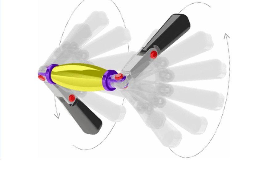 Nanobots pueden nadar en su torrente sanguíneo más rápido usando el estilo libre de los nadadores