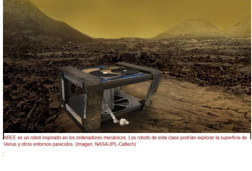 Insólito robot basado solo en la mecánica, busca superar a los electrónicos en un ambiente extremo